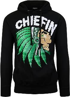 ShirtBANC Chiefn Smoke Hoodie Sweater Weed Sweatshirt Chief Hoodie