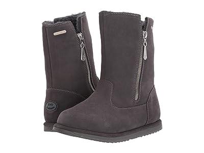 EMU Australia Kids Gravelly (Toddler/Little Kid/Big Kid) (Charcoal) Girls Shoes