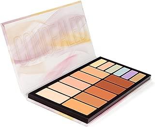Coastal Scents Concealed Palette - 10 Creamy Concealer Shades + 6 Color Correctors