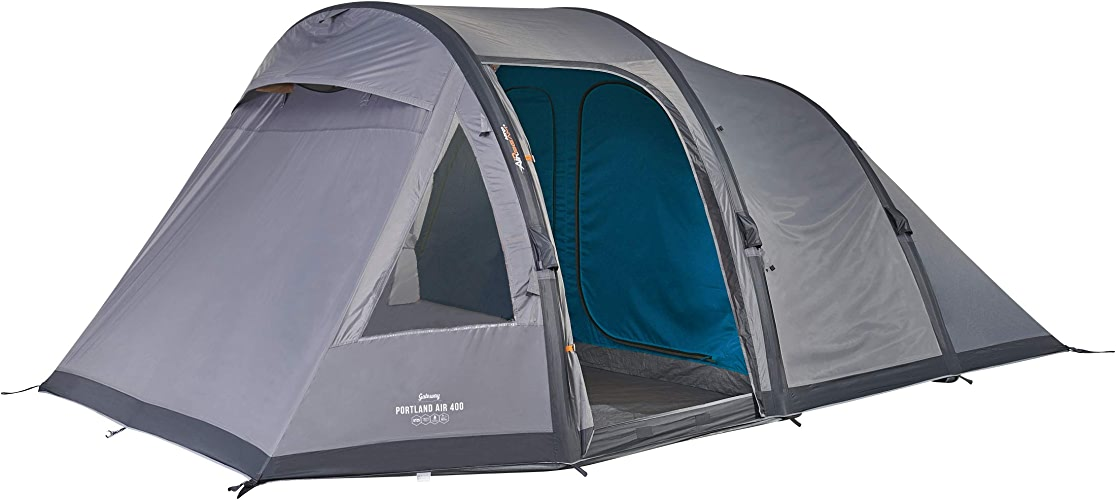 Vango Portland Air Tente Gonflable Mixte Adulte, Epsom vert, 400