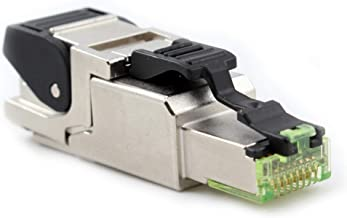 Belden R301604-000S1 DataTuff CAT6A RJ45 Field Mount Plug, FMP, F/UPT, Shielded