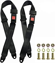 TOYI Universal Golf Cart Go Kart & UTV Seat Belt Kit 2 Pack