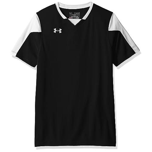 1ca771bcda7 Amazon.com   Under Armour Boys  Maquina Soccer Jersey   Clothing