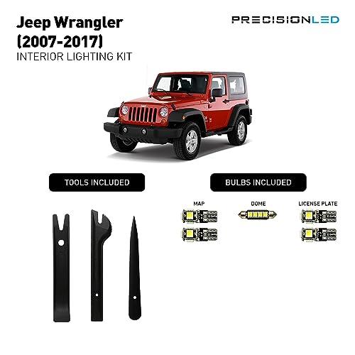 Fit For 2018 Jeep Wrangler JL Carbon Fiber Front/&Rear Reading Lamp Cover Trim 3X