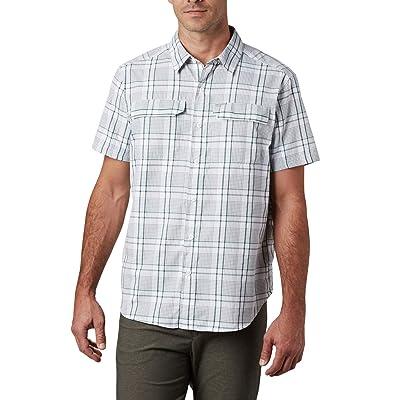 Columbia Silver Ridgetm 2.0 Multi Plaid Short Sleeve Shirt (Rain Forest Grid Plaid) Men