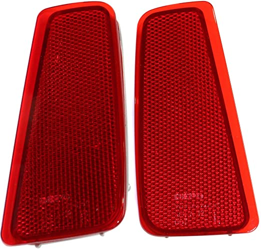 Replacement for SU1185102 For 2015 2016 2017 2018 SUBARU OUTBACK Reflector Passenger Side CarLights360 CAPA Certified