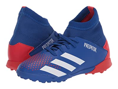 adidas Kids Predator 20.3 TF J Soccer (Little Kid/Big Kid) (Team Royal Blue/White/Active Red) Kids Shoes
