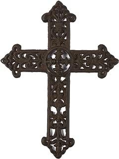 Best wrought iron crosses decor Reviews