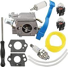 Wellsking C1Q-W37 Carburetor for Husqvarna 125B 125BX 125BVX ZAMA 545081811 545 08 18-11 581798001 Leaf Blower with Adjustment Tool Kit