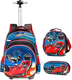 Cars Cartable Maternelle Sac /à roulettes Racing 30 CM