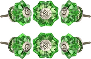 Best green crystal knobs Reviews
