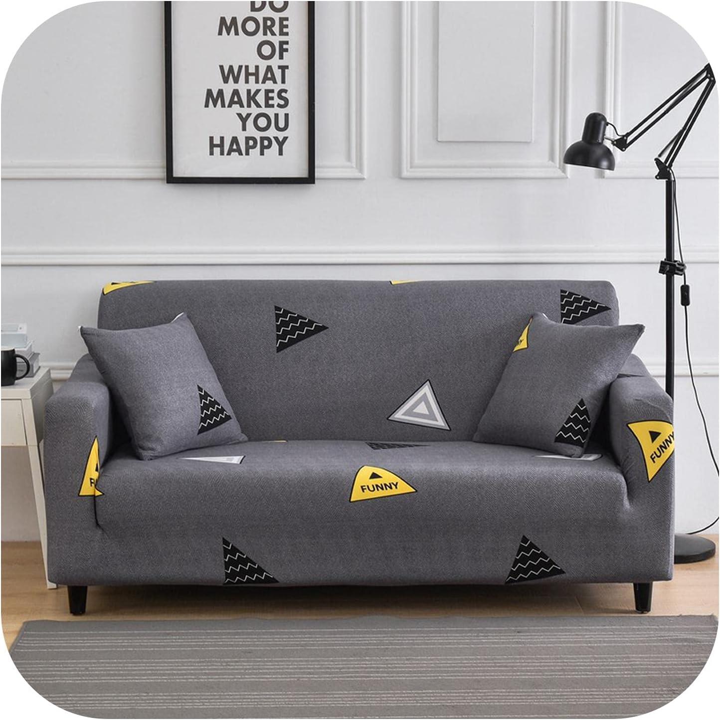 Triumphes 1 2 3 4-Seater All-Inclusive Stretc Max 46% OFF Cover Printed cheap Sofa