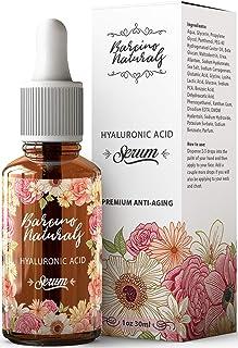 Serum Facial Acido Hialuronico Puro 100% Antiedad Natural Suero Hidratante Antiarrugas Antimanchas Piel Cara - Contorno de...