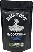 Big Foot Organic Mycorrhizal Fungi water-in concentrate. 4 species Endo Mycorrhizae Inoculant for Plant Root Growth. 1 tsp per Gallon of solution, Includes Biochar, Worm Castings, Micronutrient (8 oz)