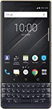 BlackBerry KEY2 LE (Lite) Dual-SIM (64GB, BBE100-4, QWERTZ Keypad) (GSM Only, No CDMA) Factory Unlocked 4G Smartphone - International Version (Champagne/Gold)