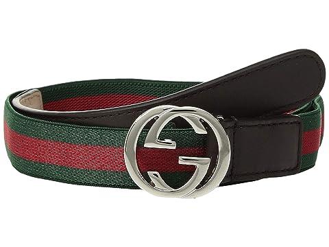 Gucci Kids Web Belt (Little Kids/Big Kids)