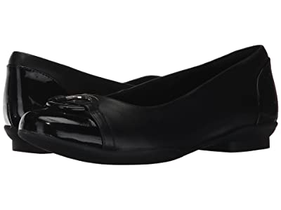 Clarks Neenah Vine (Black Leather) Women