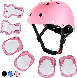 ValueTalks Kids Helmet Pad Set, Adjustable Kids Bike...