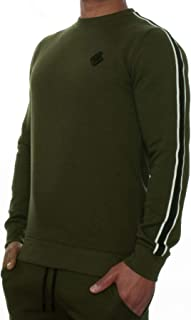 Enzo Mens Sweatshirt Crew Neck Fleece Jumper Designer Jersey Winter Warm Sweat