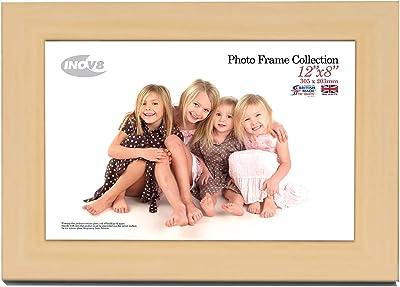 Inov8 British Made Traditional Photo Frame Malmo Grey 12x8 (30x20cm)
