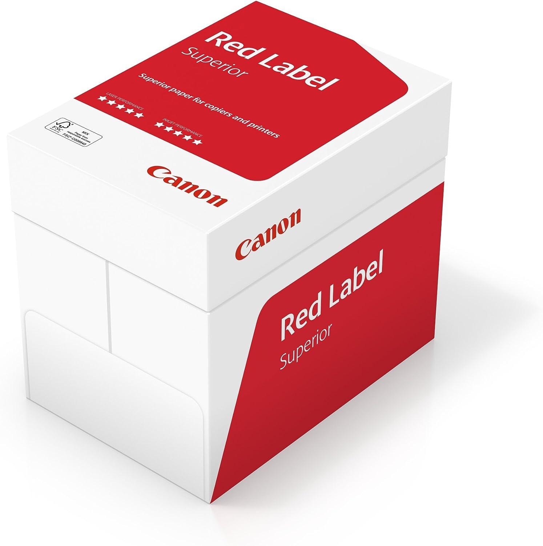 Canon Deutschland rot Label Superior Geschäftspapier, 5x500 Blatt FSC zertifiziert, A4, 80 g m², alle Drucker hochweiß CIE 168 (optimierte Schutzverpackung) B01FG024K2 | Hohe Qualität und geringer Aufwand