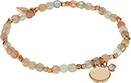 Fossil Wellness Beaded Bracelet
