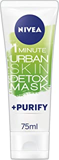 NIVEA 1 Minute Urban Skin Detox Mask Purify, 75ml