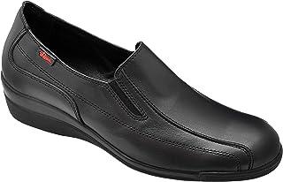 DIAN Chaussures Femme Uniformes en Cuir Couleur Noir Marque Marta-9