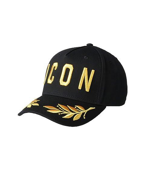 DSQUARED2 Icon Gold Baseball Cap