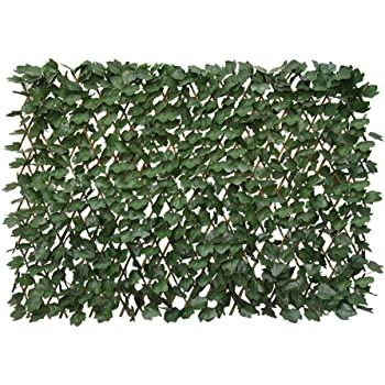 Amazon.com : Expandable Faux Ivy Privacy Fence Screen