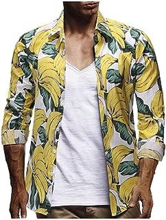 Hawaiian Shirt Men Shirts Casual Funky 3D Printed Short Sleeve Hawaiian Flower Shirt Top Casual Button Boheme Print Beach For Men Fashion Cheap Chic Vintage Top Summer 2019 Momoxi