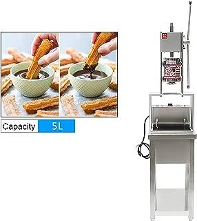 5L Churro Machine Deep-fried Dough Stick Bread Maker includes 20L Electric Fryer (220V AU/UK/EU plug)