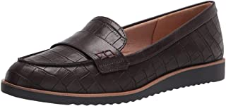 LifeStride womens Zee Loafer, Dark Chocolate, 9 US