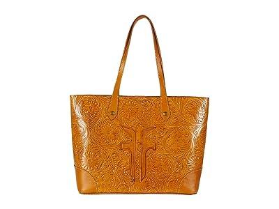 Frye Melissa Artisan Shopper (Sunflower) Handbags