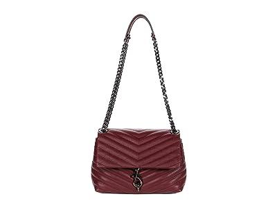 Rebecca Minkoff Edie Crossbody (Cherrywood) Cross Body Handbags