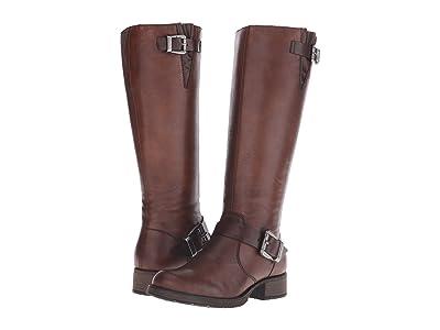 Rieker Z9580 Liz Side Zip Boot (Mahagoni Cristallino/Toffee Gallery) Women