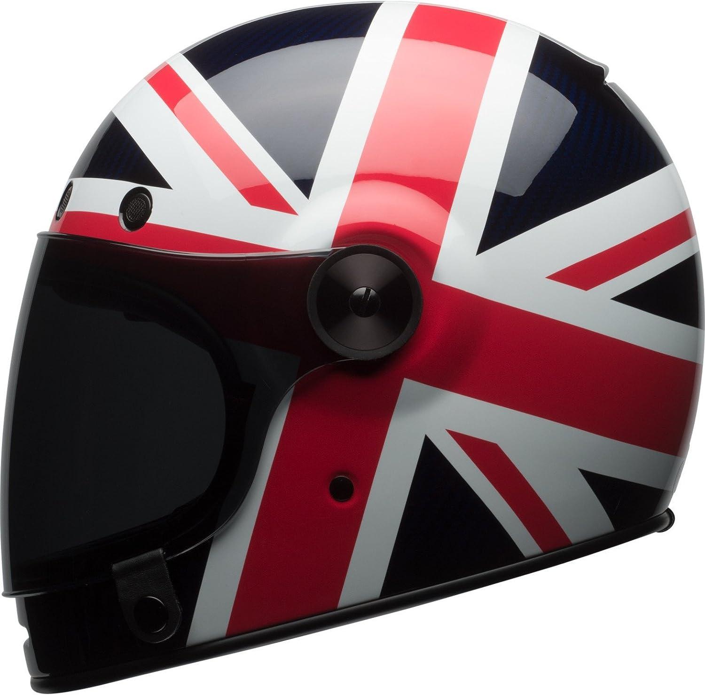 Bell Helmets Cruiser 2017 Bullitt Carbon Erwachsene Helm Carbon Spitfire Blau Rot Größe 2xl Auto
