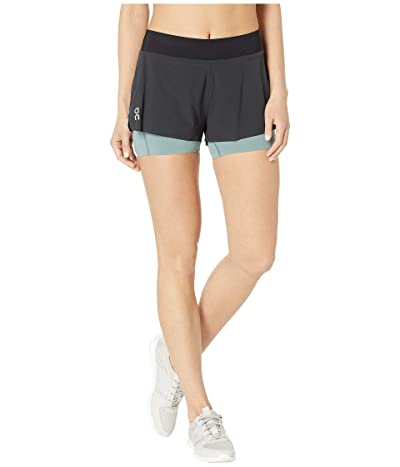On Running Shorts (Black/Sea) Women