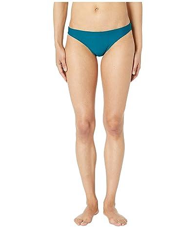 Nike Solid Bikini Bottoms (Green Abyss) Women