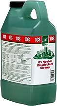 Spartan Clean on the Go Green Solutions 103 Neutral Disinfectant Cleaner, 2 Liter Bottle, 4 Bottles Per Case