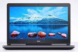 Dell Precision 7510 FHD 15.6in Workstation Business Laptop (Intel Quad Core Xeon E3-1535M V5, 16GB Ram, 512GB SSD, HDMI, Camera) Nvidia Quadro M1000M 2GB GDDR5 (Renewed)