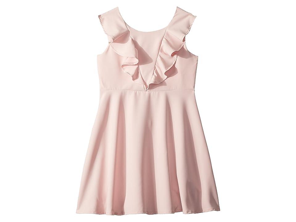 Bardot Junior Riley Ruffle Dress (Big Kids) (Potpourri) Girl