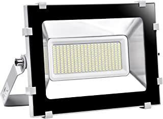 Viugreum 150W LED Flood Light Outdoor, 750W Halogen Bulb Equivalent 15000LM Daylight White 6000K, Waterproof IP65 Stadium Lights, Super Bright Security Led Work Floodlights, Fast Shipping from USA