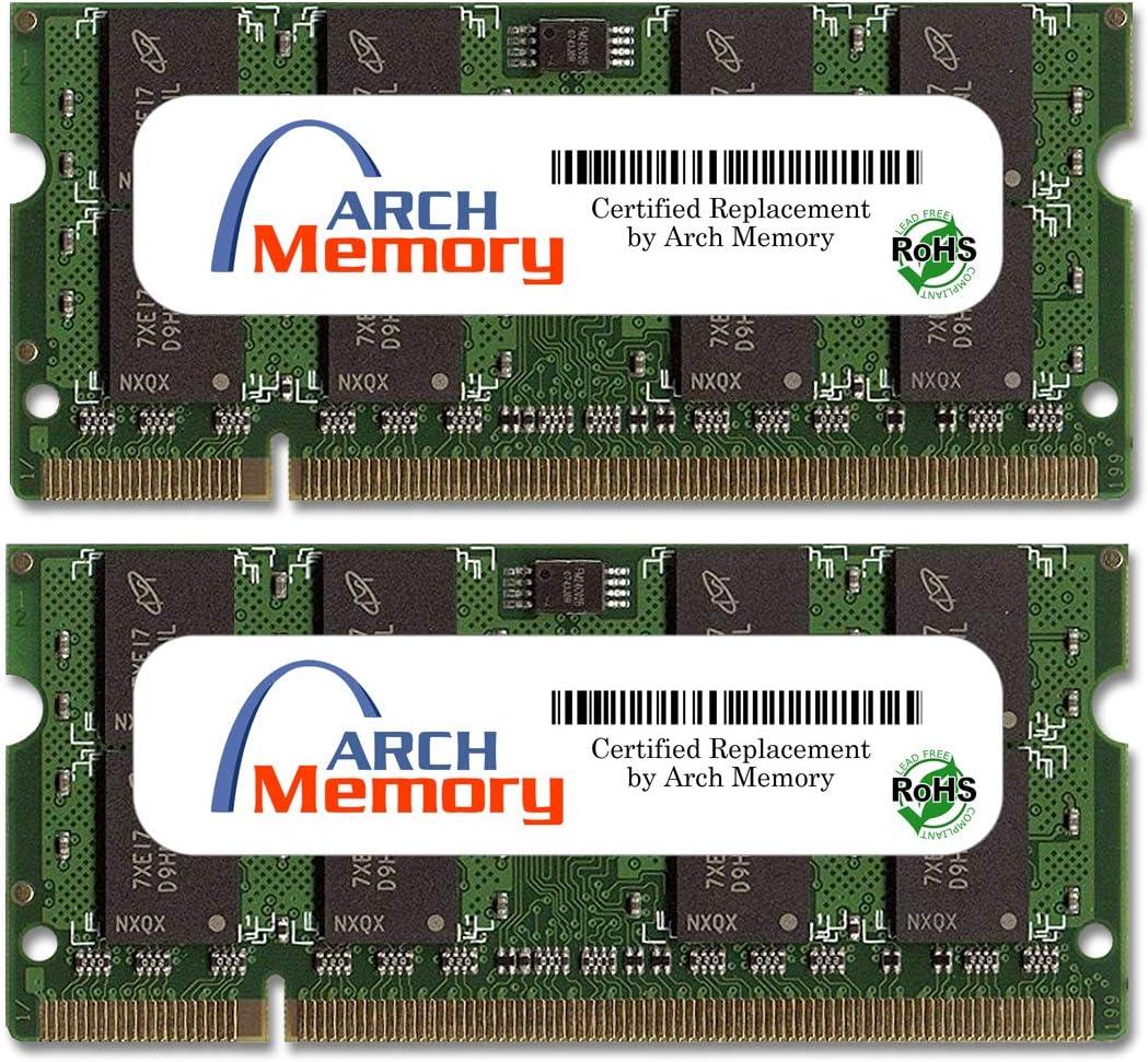 Arch Memory 4 GB 2 x 200-Pin So-dimm RAM HP Seasonal Wrap Introduction High quality for Pavi DDR2