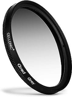 CELLONIC Grauverlauf Filter kompatibel mit Durchmesser 67mm Neutraldichte Verlauffilter Grau, ND Verlauffilter