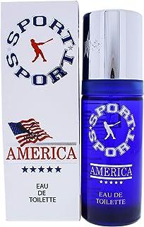 America | America Sport | Eau de Toilette | Fragrance for Men | Aromatic Floral Scent | 1.85 oz