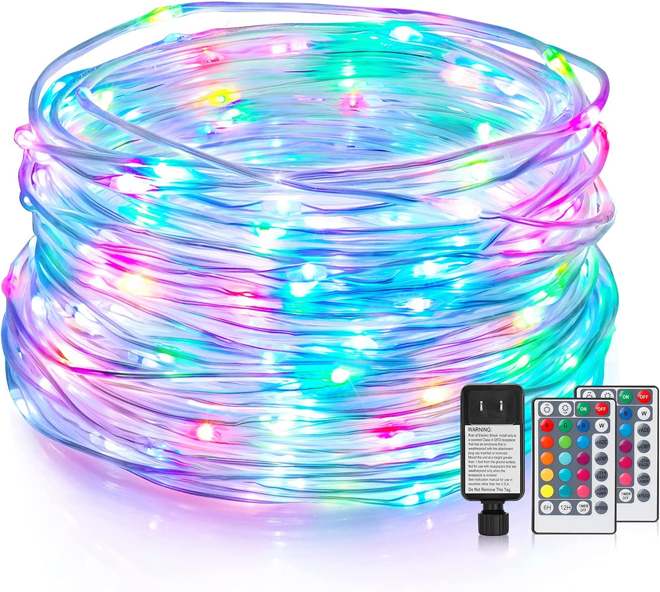 Fixed price for sale 118FT LED Rope Lights gift Outdoor Colorful 16 Lig RGB String
