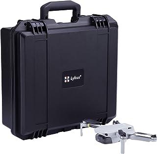Lykus Titan MM100 Hard Case for DJI Mavic Mini Fly More Combo, Store Mavic Mini Unfolded with Propeller Guards On