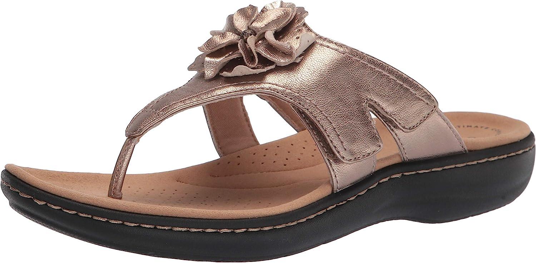 Clarks Women's Laurieann Beauty products Flat Gema Sandal Deluxe