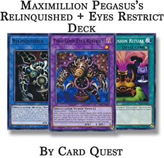 Yu-Gi-Oh! Maximillion Pegasus Complete Relinquished + Eyes Restrict Deck
